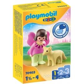Playmobil® 70403 - 1.2.3 - Feenfreundin mit Fuchs