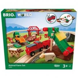 BRIO Bahn - Großes BRIO Bahn Bauernhof-Set
