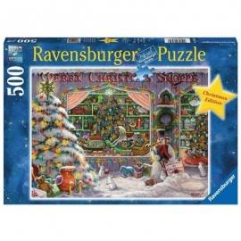 Ravensburger Spiel - Es weihnachtet sehr, 500 Teile