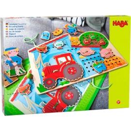 HABA® - Fädelspiel Bauernhof