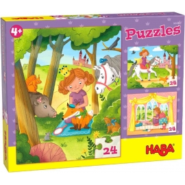 HABA® - Puzzles Prinzessin Valerie, 24 Teile