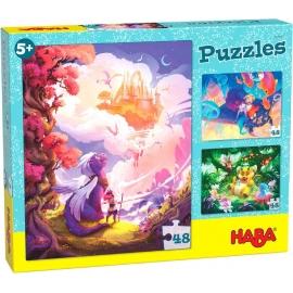 HABA® - Puzzle Im Fantasieland, 48 Teile