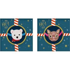 Die Spiegelburg - Armband Reh&Eisbär Fröhliche Weihnachten!, sort.