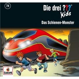 Europa - CD Die drei ??? Kids Das Schienen-Monster, Folge 74