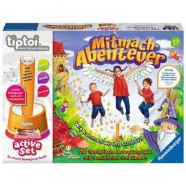 Ravensburger Spiel - tiptoi - active Set Mitmach-Abenteuer