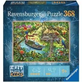 Ravensburger Spiel - Exit Puzzle Kids - Dschungelsafari