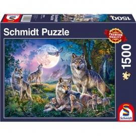Schmidt Spiele - Wölfe, 1500 Teile