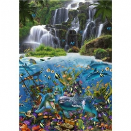 Schmidt Spiele - John Enright - Wasserfall, 1000 Teile