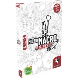 Edition Spielwiese - MicroMacro - Crime City, deutsche Ausgabe