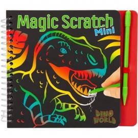Depesche - Dino World - Mini Magic Scratch Book