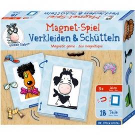 Die Spiegelburg - Magnetspiel Verkleiden & Schütteln Die Lieben Sieben