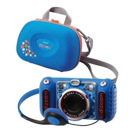 Vtech 80-520094 KidiZoom Duo DX blau inkl. Tragetasche blau
