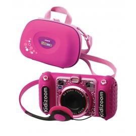 Vtech 80-520099 KidiZoom Duo DX pink inkl. Tragetasche pink
