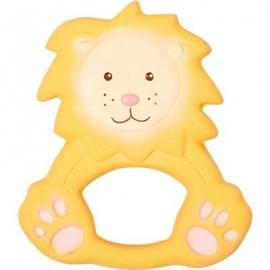 Die Spiegelburg - BabyGlück - Beißring aus Naturkautschuk Löwe Louis