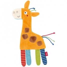 sigikid - Knistertuch Giraffe PlayQ