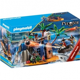 Playmobil® 70556 - Pirates - Pirateninsel mit Schatzversteck