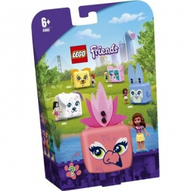 LEGO® Friends 41662 - Olivias Flamingo-Würfel