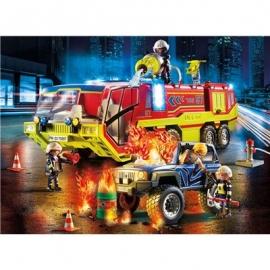 Playmobil® 70557 - City Action - Feuerwehreinsatz mit Löschfahrzeug