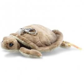Steiff - Anhänger Schildkröte 12 braun/grün