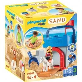 Playmobil® 70340 - 1.2.3. - Kreativset Sandburg