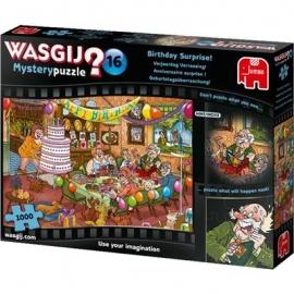 Jumbo Spiele - Wasgij Mystery 16 - Geburtstagsüberraschung! - 1000 Teile