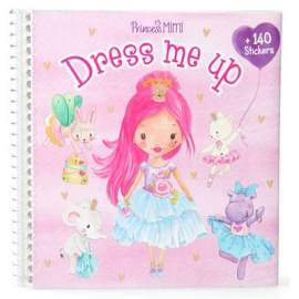 Depesche - Princess Mimi - Dress Me Up Malbuch