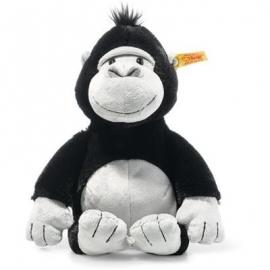 Steiff - Soft Cuddly Friends Bongy Gorilla 30cm schwarz/hellgrau
