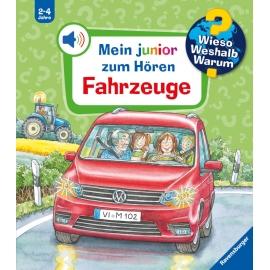 Ravensburger 32986 WWW junior zum Hören4: Fahrzeuge
