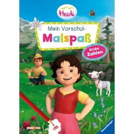 Ravensburger 49630 Heidi: Vorschul-Malspaß Zahlen