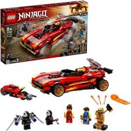 LEGO® Ninjago 71737 - X-1 Ninja Supercar