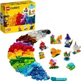 LEGO® Classic 11013 - Kreativ-Bauset mit durchsichtigen Steinen