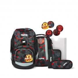 ergobag pack Schulrucksack-Set TaekBärdo