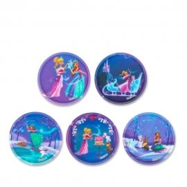 ergobag Kletties-Set Prinzessin auf dem Eis