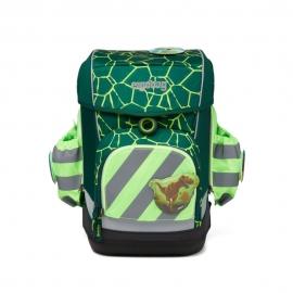 ergobag Seitentaschen Zip-Set mit Reflektorstreifen Grün