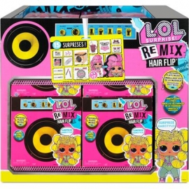 MGA - REMIX - L.O.L. Surprise Remix Hairflip Tots Asst in PDQ