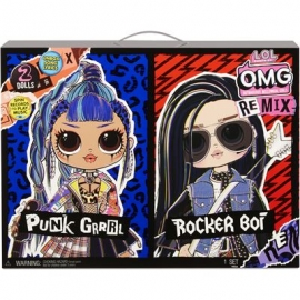 MGA - REMIX - L.O.L. Surprise OMG Remix Dolls - L.O.L. Surprise OMG Remix 2-Pack