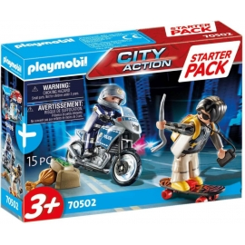Playmobil® 70502 Starter Pack Polizei Ergänzungsset