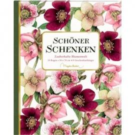 Coppenrath Verlag  - Geschenkpapier-Buch - Schöner schenken Zauberhafte Blumenwelt