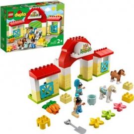 LEGO® DUPLO® 10951 - Pferdestall und Ponypflege