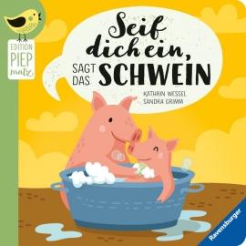 Ravensburger 43998 Seif dich ein, sagt das Schwein
