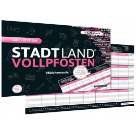 STADT LAND VOLLPFOSTEN® - GIRLS EDITION (DinA4-Format)