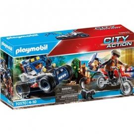 Playmobil® 70570 - City Action - Polizei - Geländewagen Verfolgung des Schatzräubers