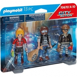 Playmobil® 70670 - City Action - Polizei - Figurenset Ganoven