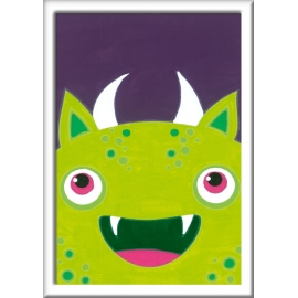 Ravensburger 28776 Malen nach Zahlen Freches Monster