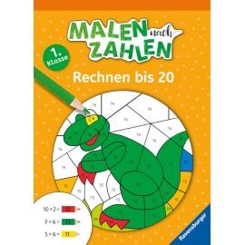 Ravensburger 41620 MnZ, 1. Kl.: Rechnen bis 20