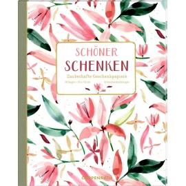 Geschenkpapier-Buch - Schöner schenken (All about rose)