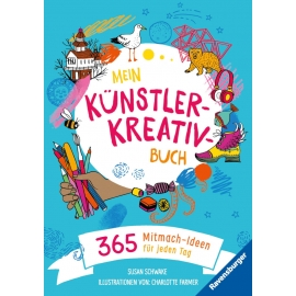 Ravensburger 41737 Mein Künstler-Kreativbuch