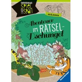 Ravensburger 41624 Abenteuer im Rätsel-Dschungel