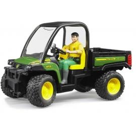 Bruder - John Deere Gator XUV 855D mit Fahrer