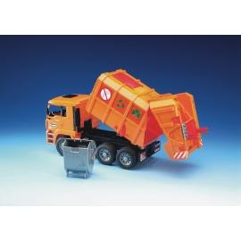 Bruder - MAN TGA Müll-LKW orange